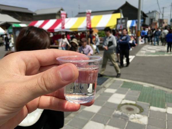 振る舞い酒その2:日本酒